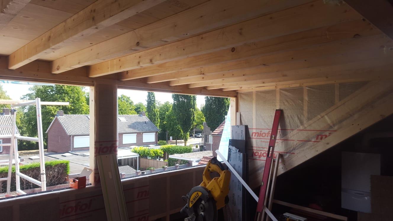 constructie nieuwe dakkapel Weert