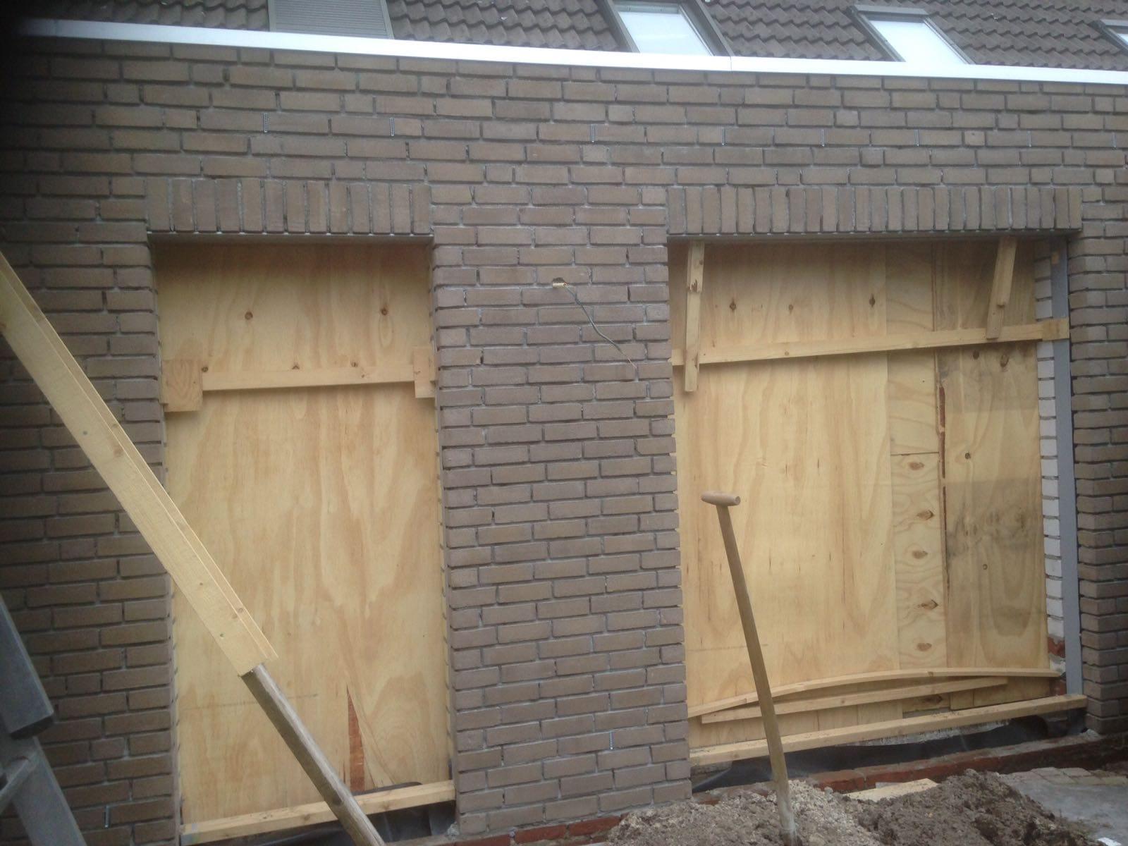 levensloopbestendige woning in aanbouw