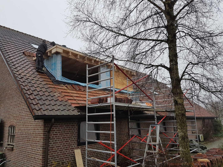 bouw van onderhoudsvrije dakkapel appartementen